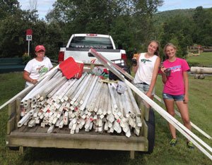 GMHA-cross-country-course-volunteers